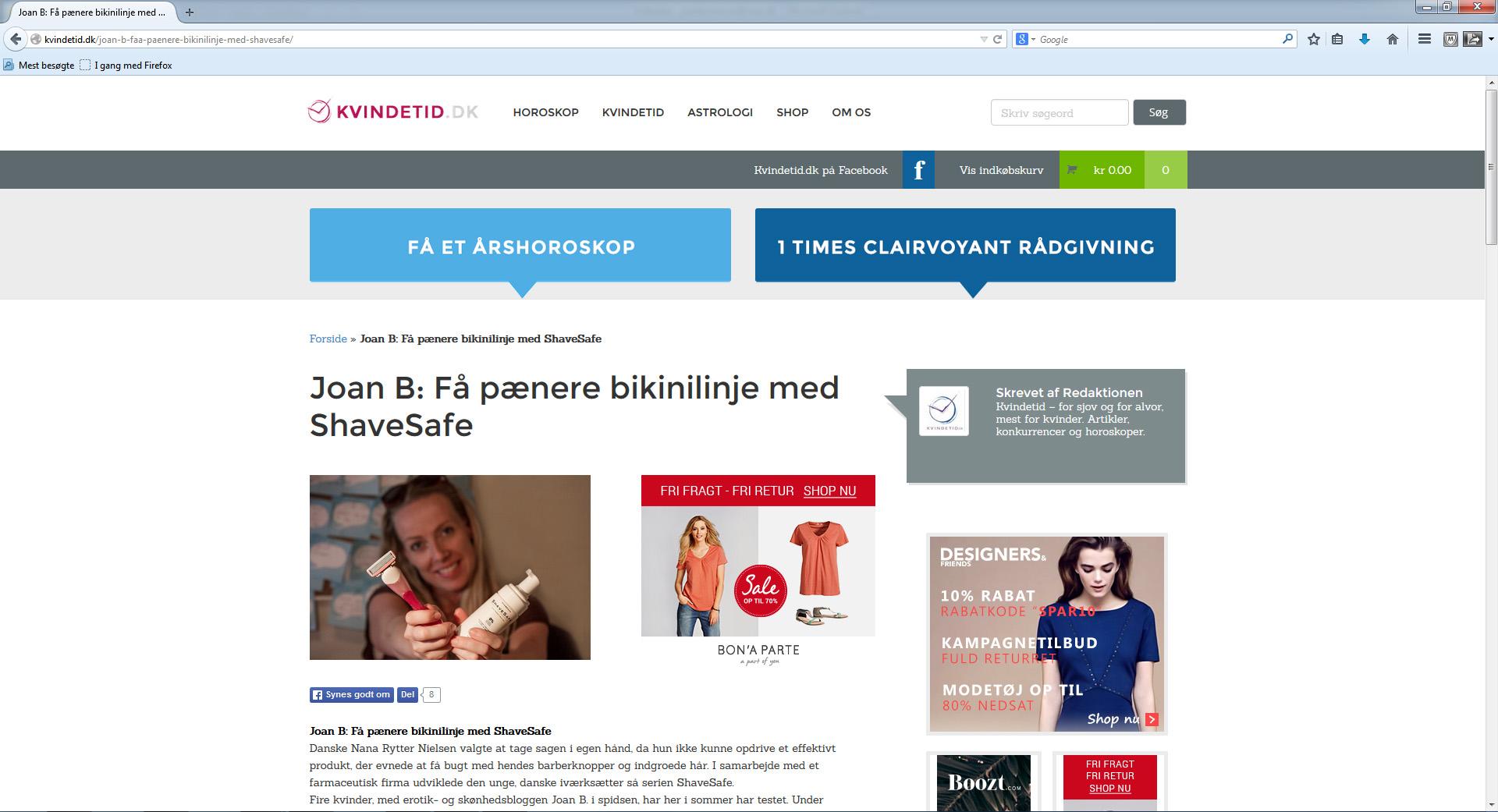Få fin bikinilinje på Kvindetid.dk