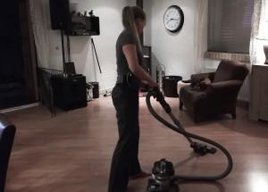støvsugning