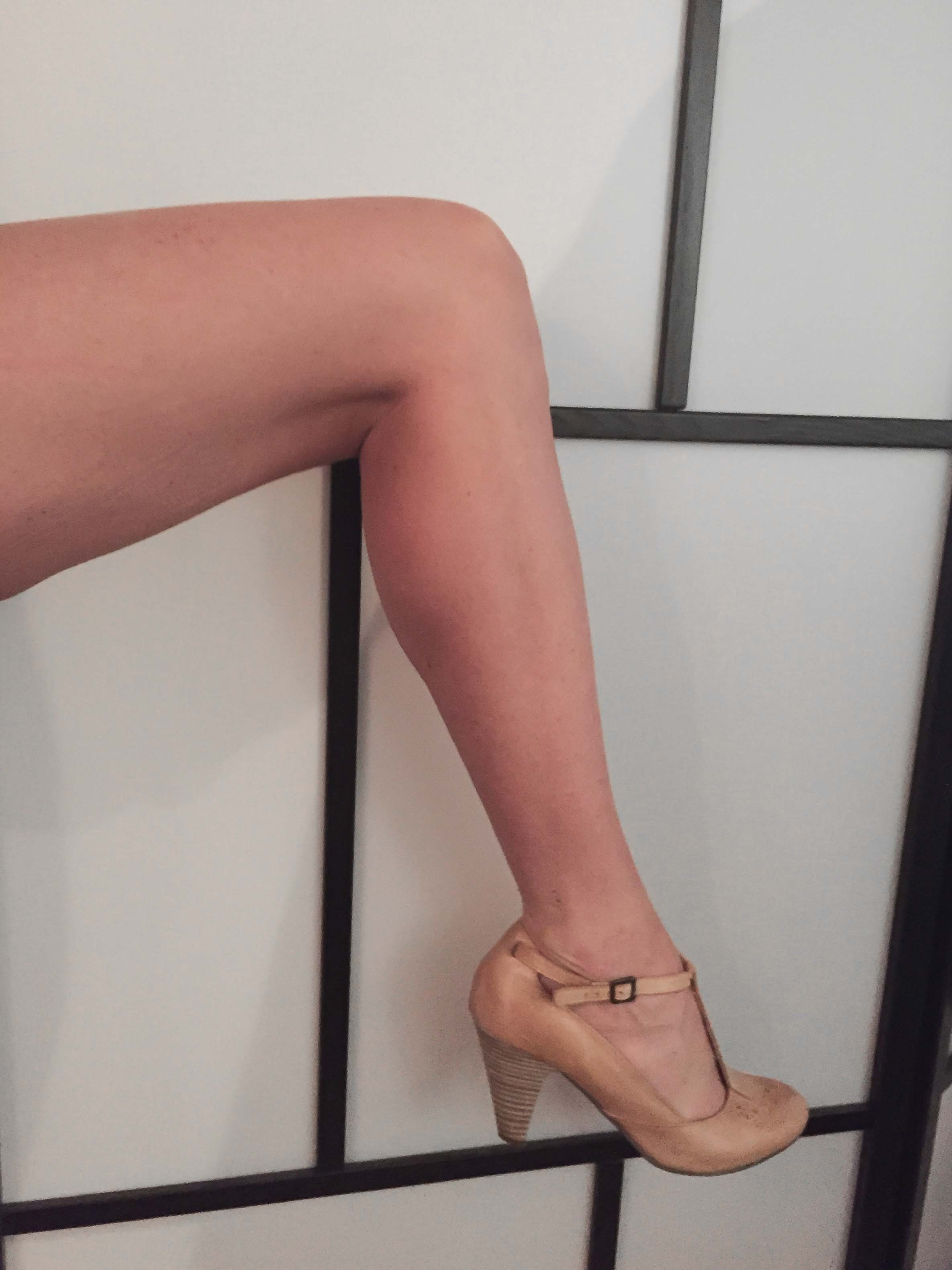 Jeg nægter at gå ned på udseendet af mine ben
