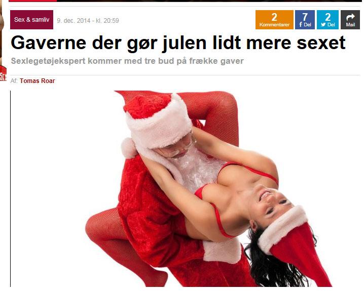 eb.dk om sexlegetøj til jul