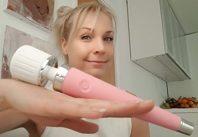 Lidt for slagkraftig magic wand vibrator