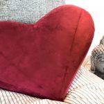 Hjerteformet sexpude til par og sololege
