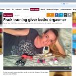 Bækkenbundstræning omtalt på EB