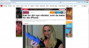 Kæl for din nye vibrator, som du kæler for din iphone