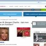 Joan B: Slangen Charlie