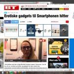 om gadgets til smartphone på bt.dk