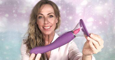 Fantastisk oralsex med ny slikkemaskine