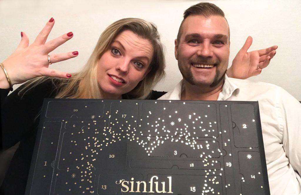sexjulekalender videofilmet hver dag af ægteparret Lars og Anette